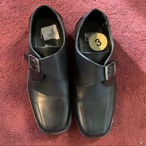 Boys Black dress shoes, size 3